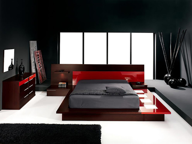 Stylish Red And Black Bedroom Stylish Red And Black Bedroom Stylish 2BRed 2BAnd 2BBlack 2BBedroom 2B4