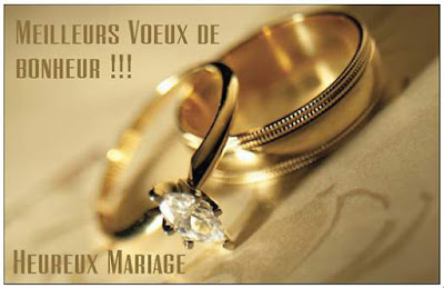 Carte pour mariage