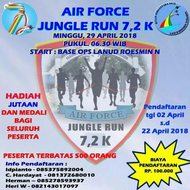 Air Force Jungle Run • 2018
