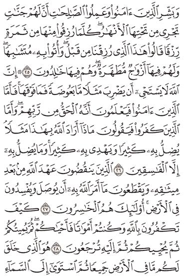 Tafsir Surat Al-Baqarah Ayat 26, 27, 28, 29, 30