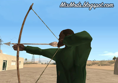 archer bow and arrow mod gta sa