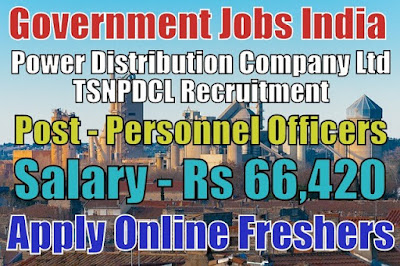 TSNPDCL Recruitment 2019
