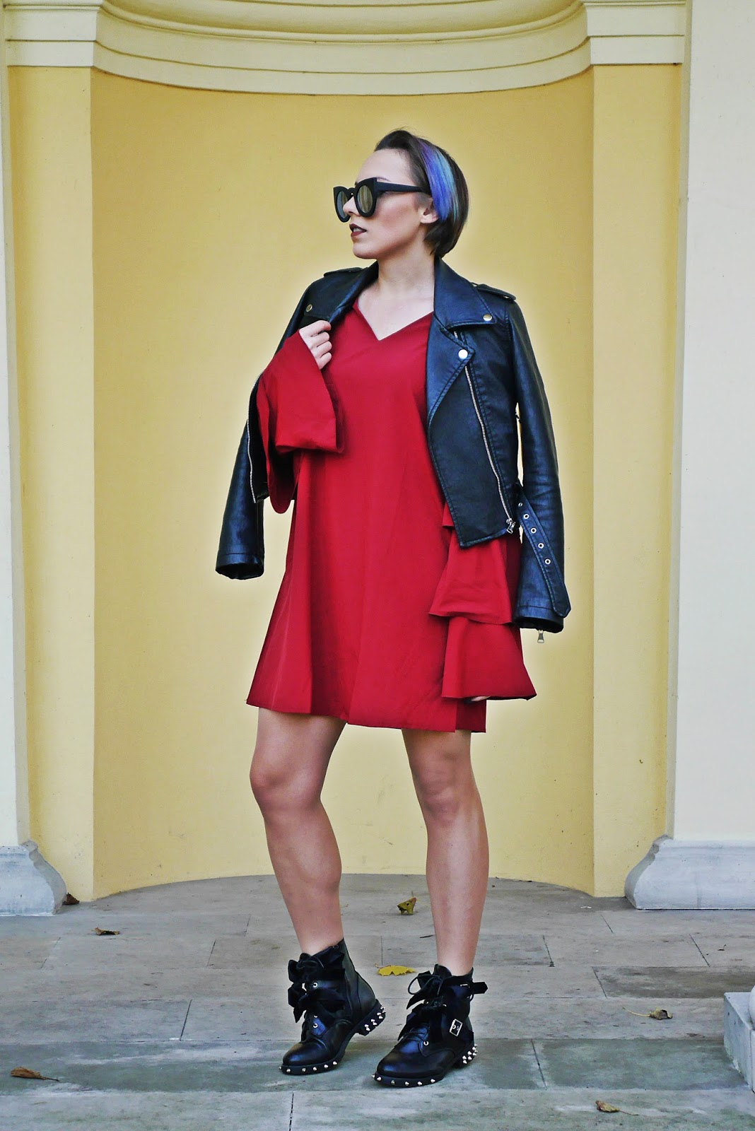 1_buty_renee_cwieki_bordowa_sukienka_skorzana_ramoneska_karyn_blog_modowy_06111
