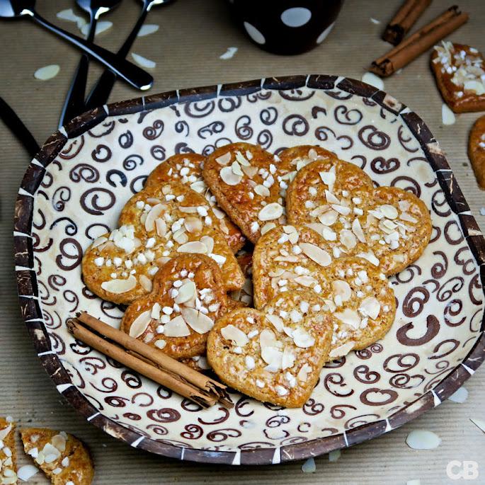 Recept Romantische kaneelhartjes voor je Valentijn!
