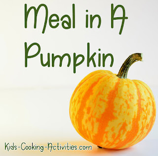 http://blog.kids-cooking-activities.com/2013/11/pumpkin-theme-night.html