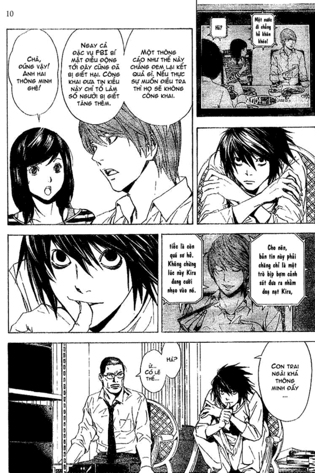 Death Note chapter 017 trang 10