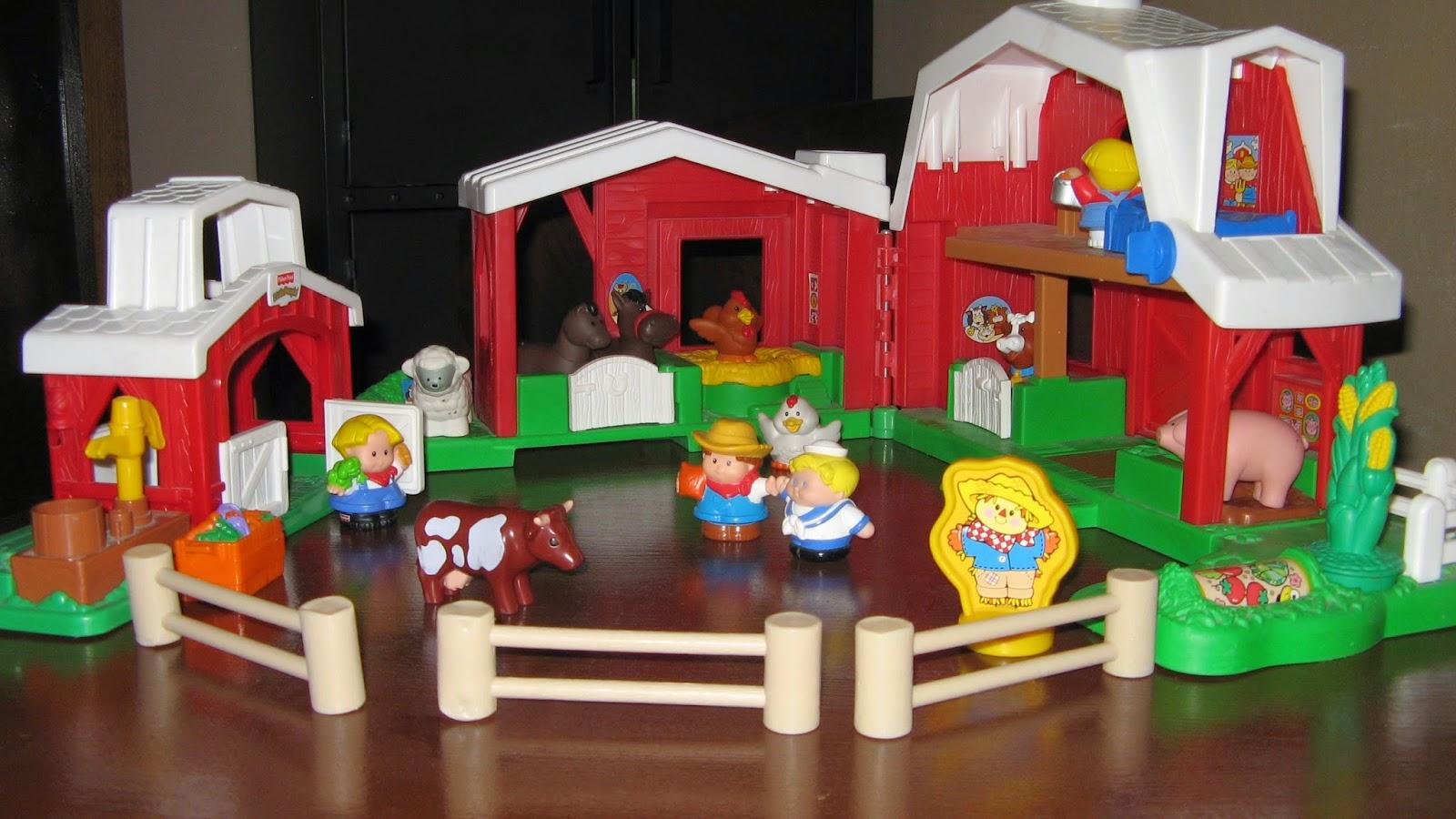 jouets pour enfants en accès libre