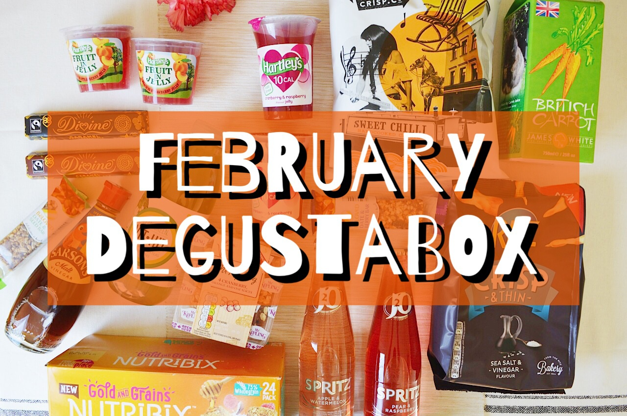 Degustabox February review, lifestyle bloggers, food bloggers, FashionFake blog