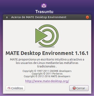 Acerca de MATE 1.16.1