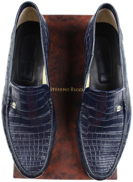 Stefano Ricci Crocodile Leather Loafers