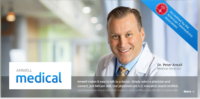 Amwell #online #doctor #visits