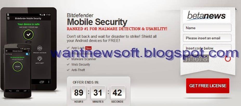 bitdefender android license key free