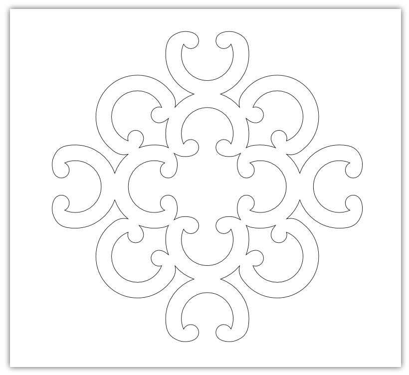 Imaginesque: Curly Pattern