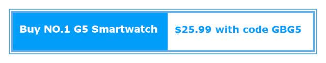 Buy NO.1 G5 Bluetooth Smartwatch here