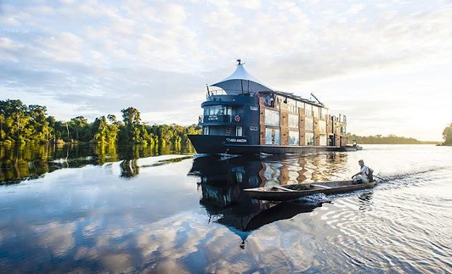 Aria Amazon crucero de lujo por el Amazonas