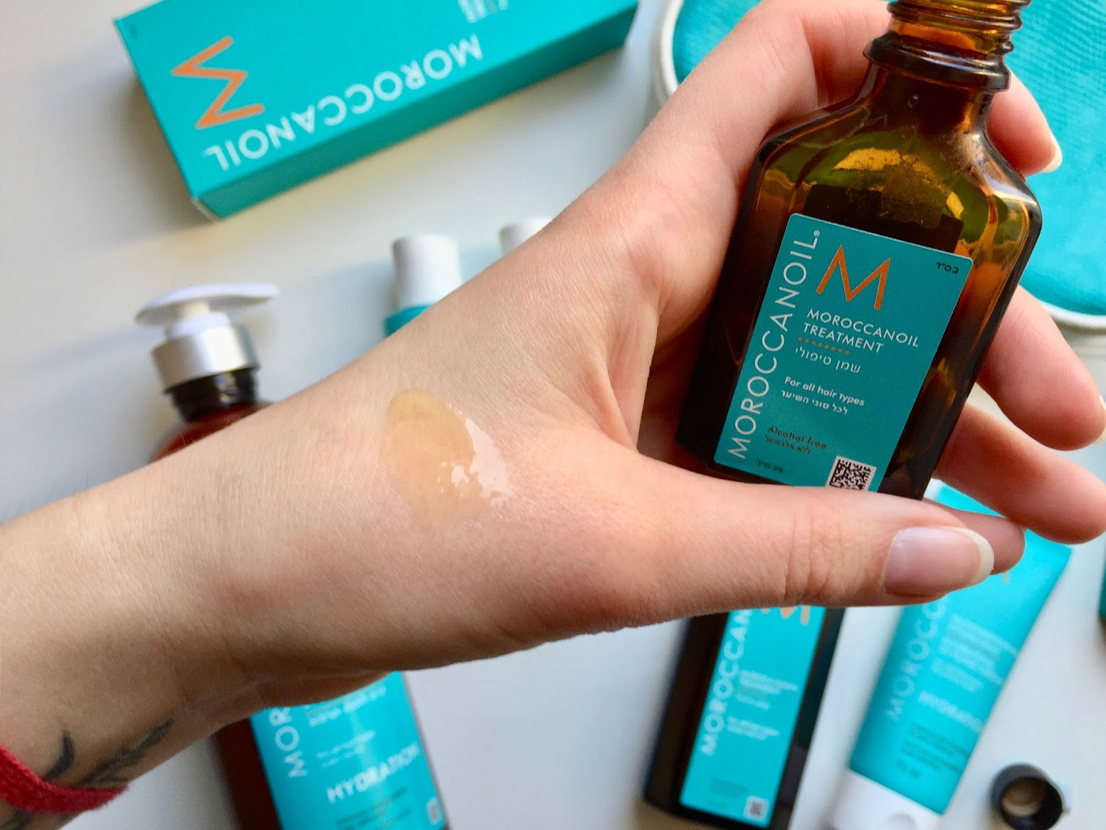 konzistence moroccanoil treatment original