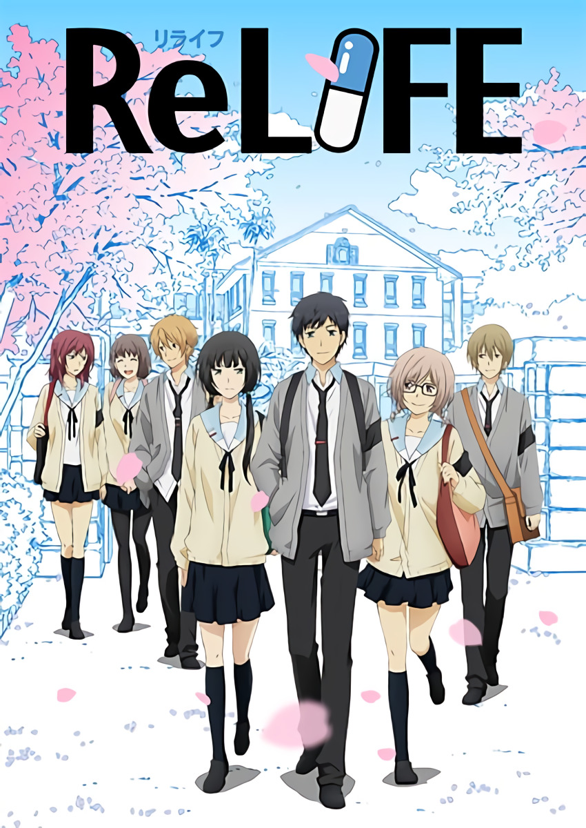 ReLIFE S1 BD Batch Subtitle Indonesia [x265]