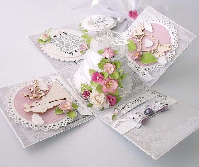 Pudełko na ślub z tortem!