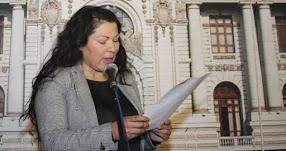 Congresista Yesenia Ponce pidío perdón a Keiko Fujimori por caso Chinecas
