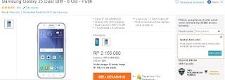 Samsung Galaxy J5 Turun Harga Jadi Rp 2.165.000