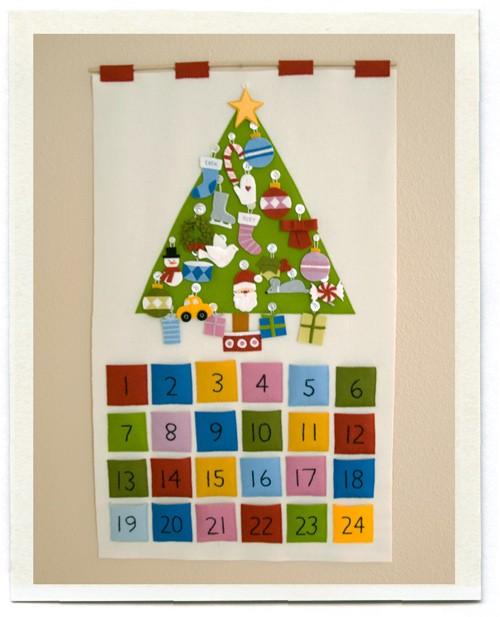 Calendario De Adviento Casero.Plantamer Calendario De Adviento Casero