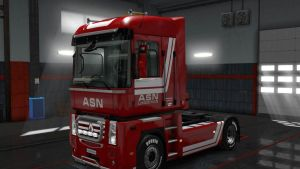 ASN Logistics Skin for Renault Magnum