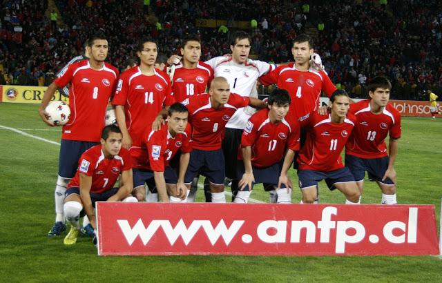 Formación de Chile ante Colombia, Clasificatorias Sudáfrica 2010, 10 de septiembre de 2008