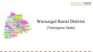 Warangal Rural District with Mandals