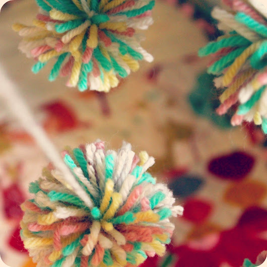 Pom poms and pretty things