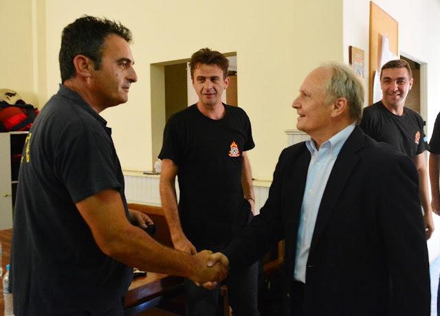 Παρέμβαση Ανδριανού για την ανάγκη άμεσης ανανέωσης του ατομικού εξοπλισμού των εποχικών πυροσβεστών