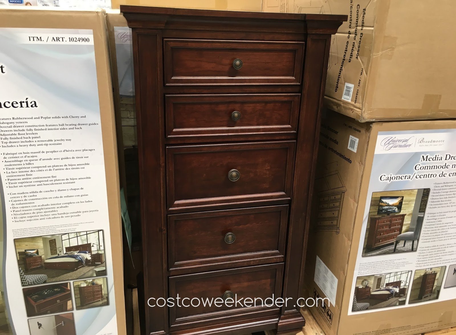 Lyndhurst Media Dresser Costco Bestdressers 2017