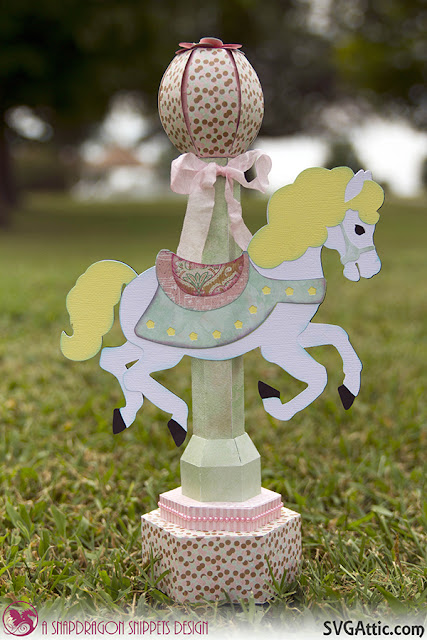Carousel Horse centerpiece