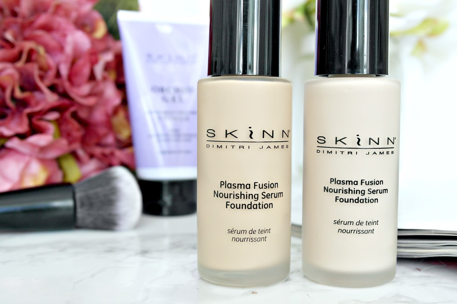 Skinn Plasma Fusion Nourishing Serum Foundation, review, ideal world