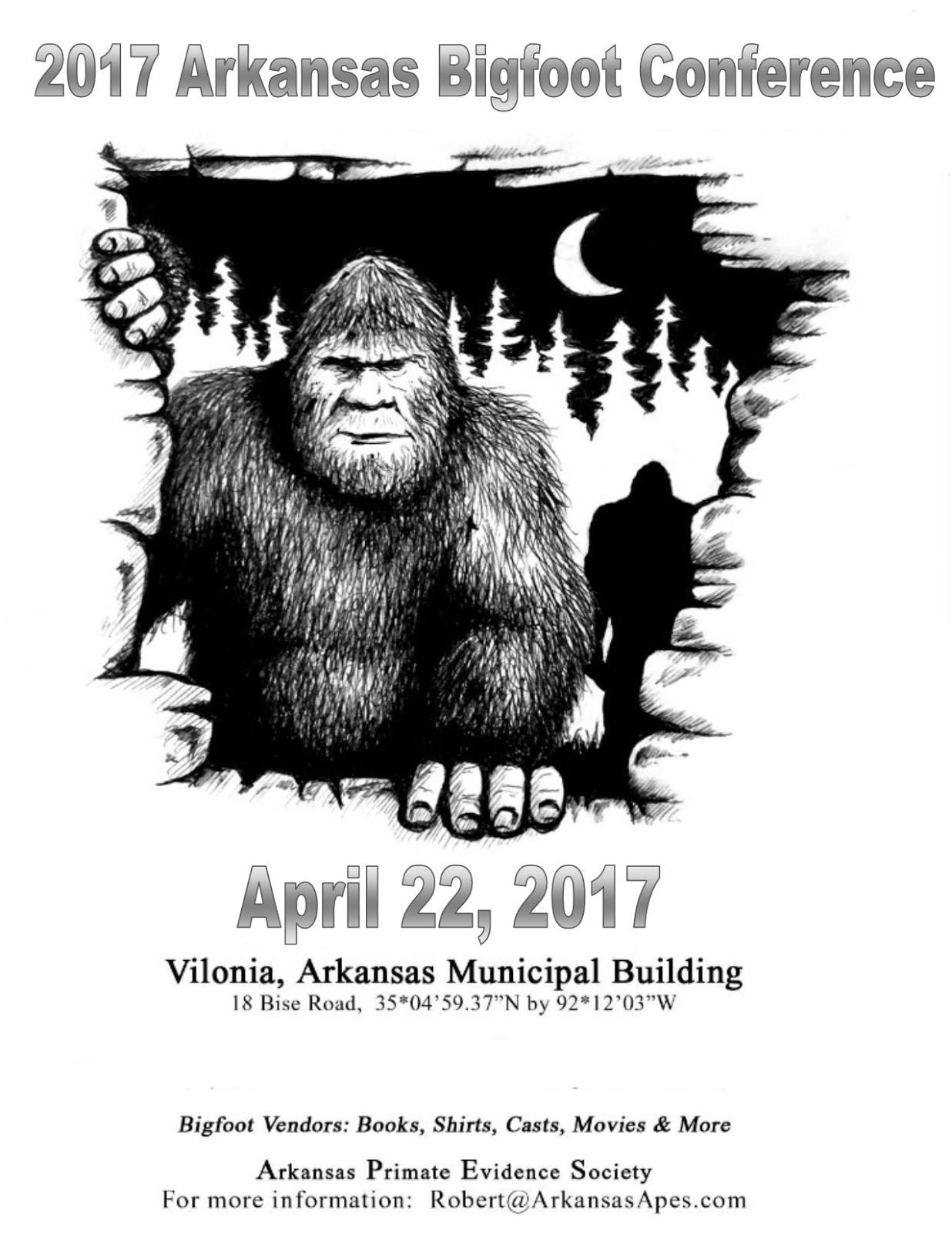 Bigfoot Field Guide: 2017 Arkansas Bigfoot Conference