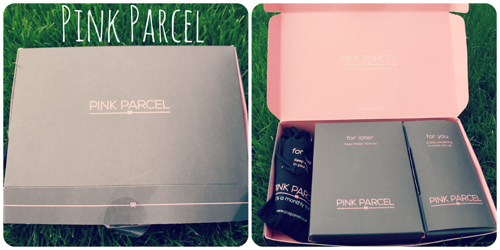 Pink Parcel: The subscription box with a difference!