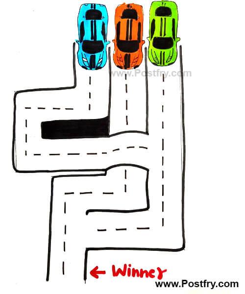 Car puzzel