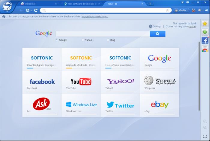 baidu spark browser franais