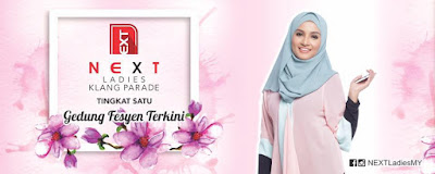 Shoping Raya di NEXT Ladies Klang Parade