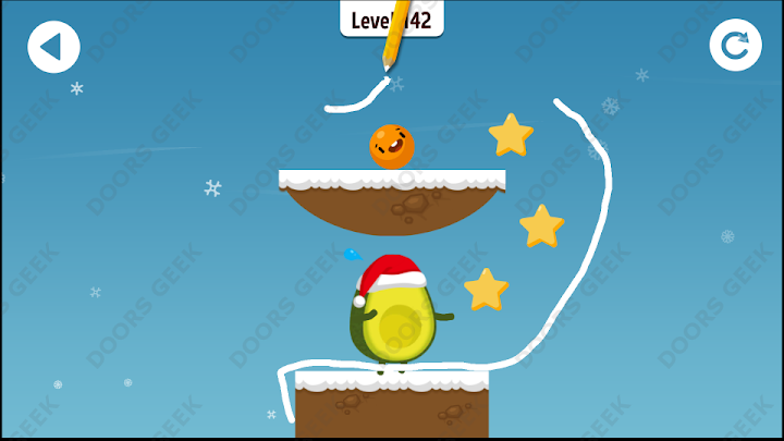 Where's My Avocado? Level 142 Solution, Cheats, Walkthrough, 3 Stars for Android, iPhone, iPad and iPod