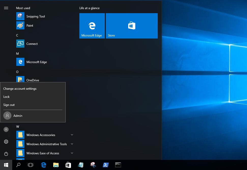 Cách thiết lập ghim ứng dụng vào Start menu và Taskbar áp dụng cho tất cả tài khoản sử dụng trên Windows 10