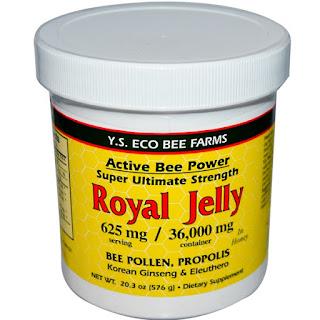 Y.S. Eco Bee Farms, Royal Jelly, 20.3 oz (576 g)