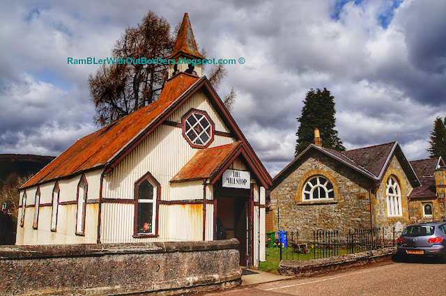 Former church, Fort Augustus, Scotland, UK