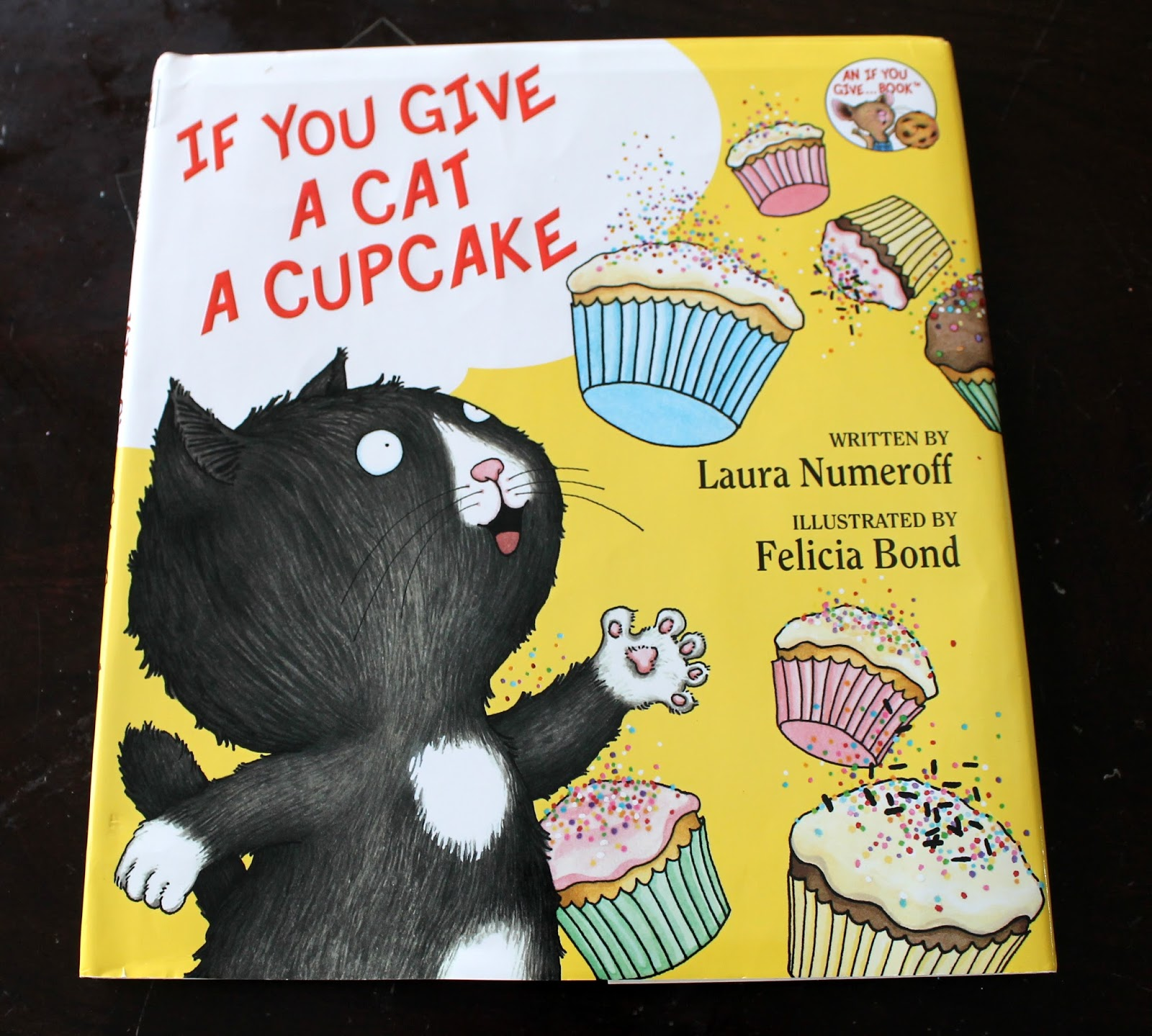 Junior Kids Book Series If You Give A Cat A Cupcake