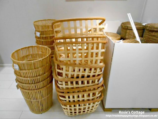 Ikea VIKTIGT Collection Baskets