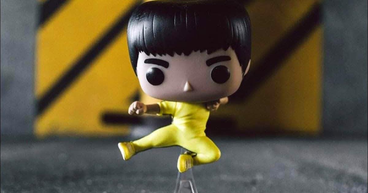 Bruce Lee Is Now A Flying Man Funko Pop Figure