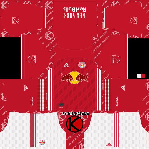 New York Red Bulls 2019 Kit Dream League Soccer Kits Kuchalana