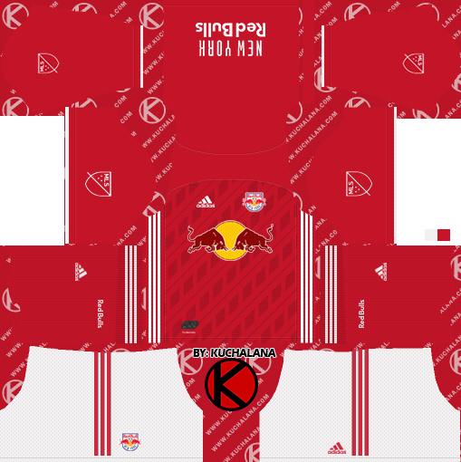 New York Red Bulls 2019 Kit - Dream League Soccer Kits