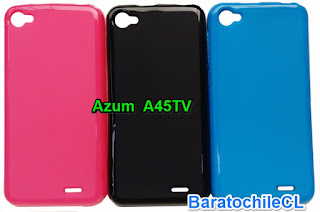 Carcasa gel Azumi A45TV