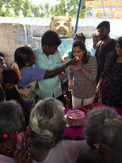 Tamil Actress Varalaxmi Sarathkumar Birthday Celetion Stills  0013.jpg