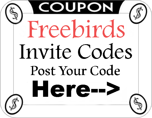 Freebirds App Referral Codes 2021-2122, Freebirds Invitation Code, Freebirds App Mobile Download Android and Iphone